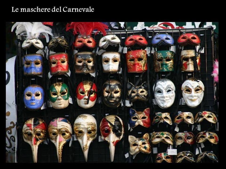 Le maschere del Carnevale