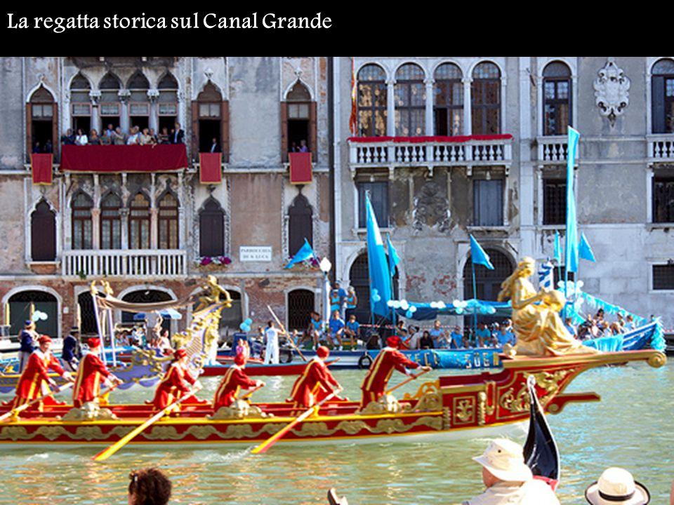 La regatta storica sul Canal Grande