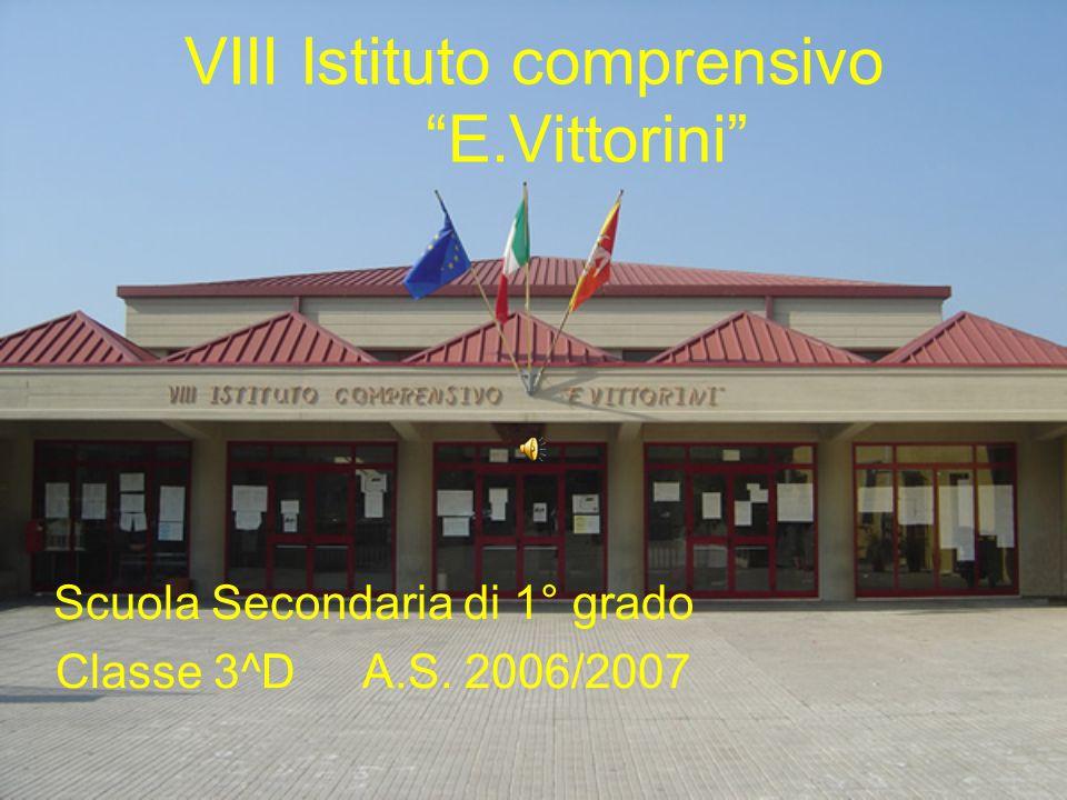 """VIII Istituto comprensivo """"E.Vittorini"""" Scuola Secondaria di 1° grado Classe 3^D A.S. 2006/2007"""