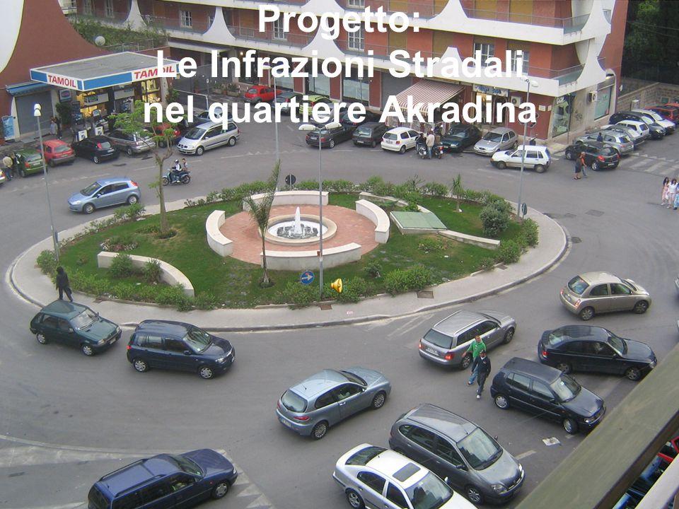 Progetto: Le Infrazioni Stradali nel quartiere Akradina