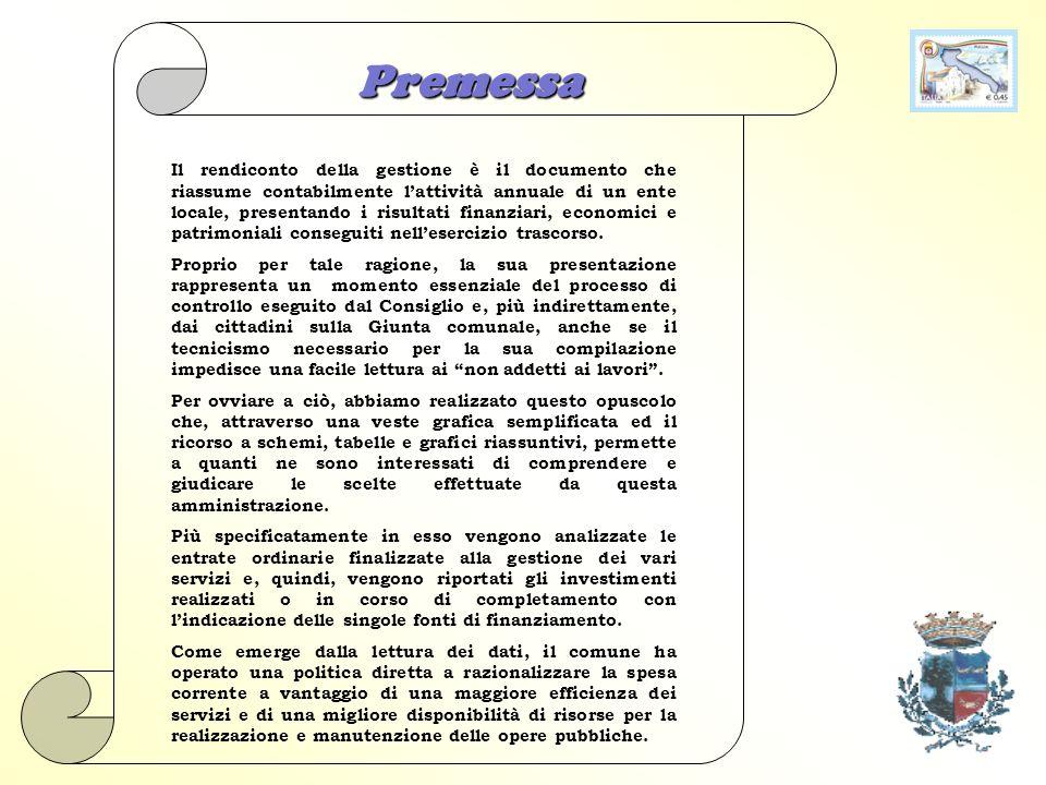 Comune di Grumo Appula Il Rendiconto della Gestione per il Cittadino 2009