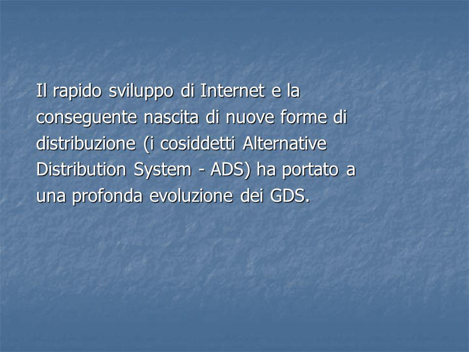 Il rapido sviluppo di Internet e la conseguente nascita di nuove forme di distribuzione (i cosiddetti Alternative Distribution System - ADS) ha portat