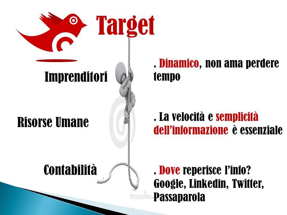 Dalla considerazione: Dove il target ricerca l'informazione.