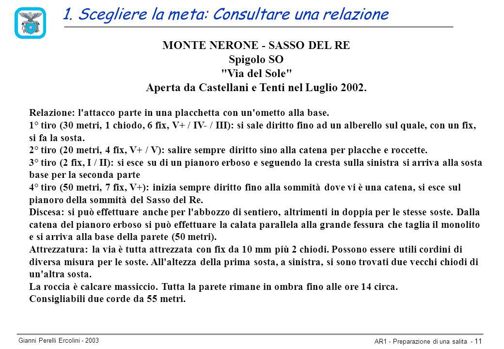 Gianni Perelli Ercolini - 2003 AR1 - Preparazione di una salita - 11 1.