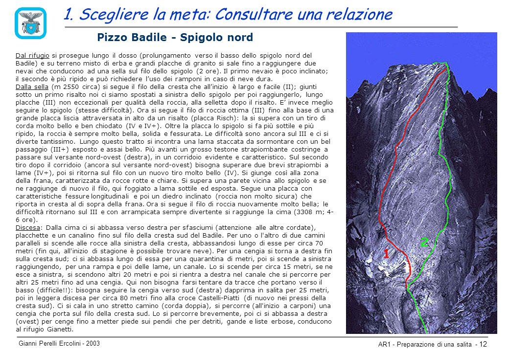 Gianni Perelli Ercolini - 2003 AR1 - Preparazione di una salita - 12 1.