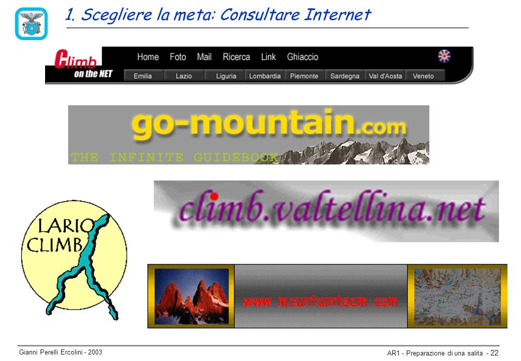 Gianni Perelli Ercolini - 2003 AR1 - Preparazione di una salita - 22 1.