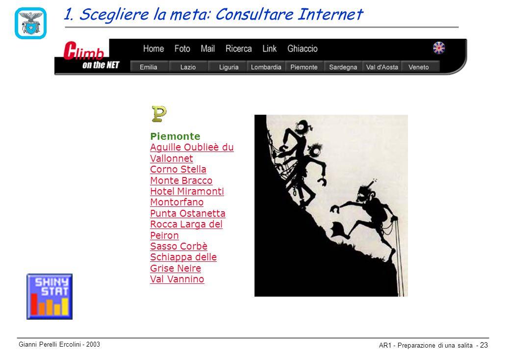 Gianni Perelli Ercolini - 2003 AR1 - Preparazione di una salita - 23 1.