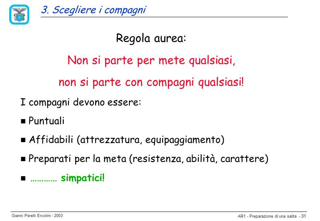 Gianni Perelli Ercolini - 2003 AR1 - Preparazione di una salita - 31 3.