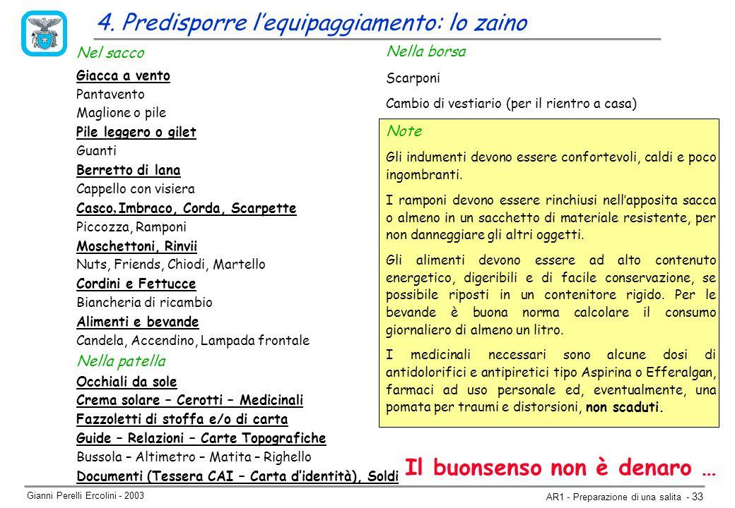 Gianni Perelli Ercolini - 2003 AR1 - Preparazione di una salita - 33 4.