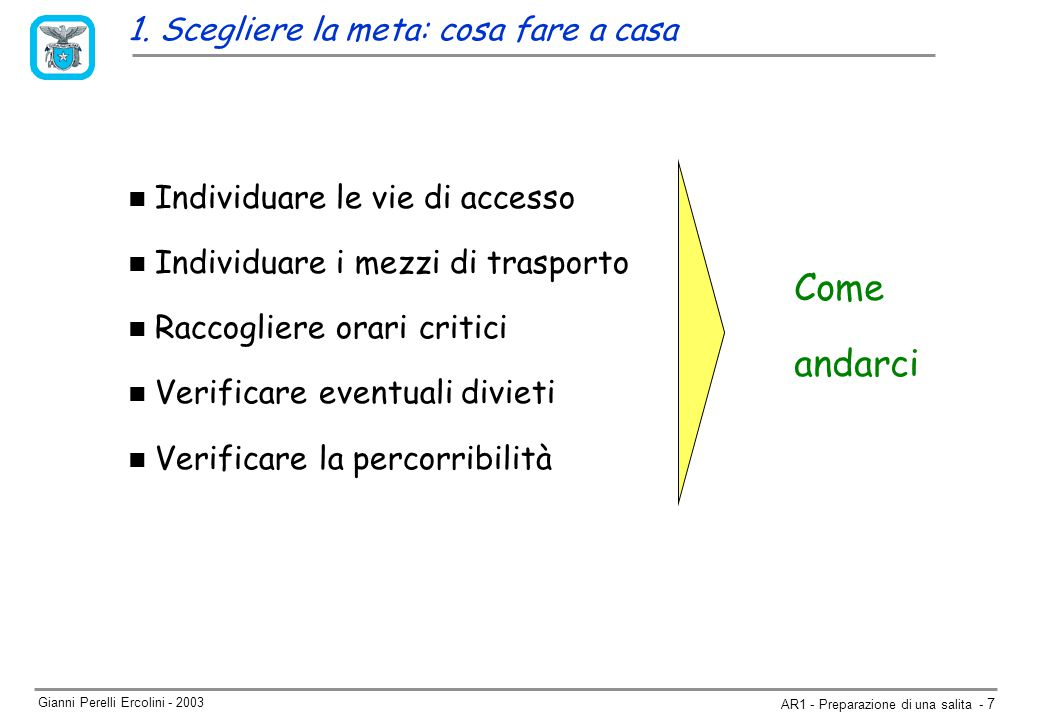 Gianni Perelli Ercolini - 2003 AR1 - Preparazione di una salita - 7 1.