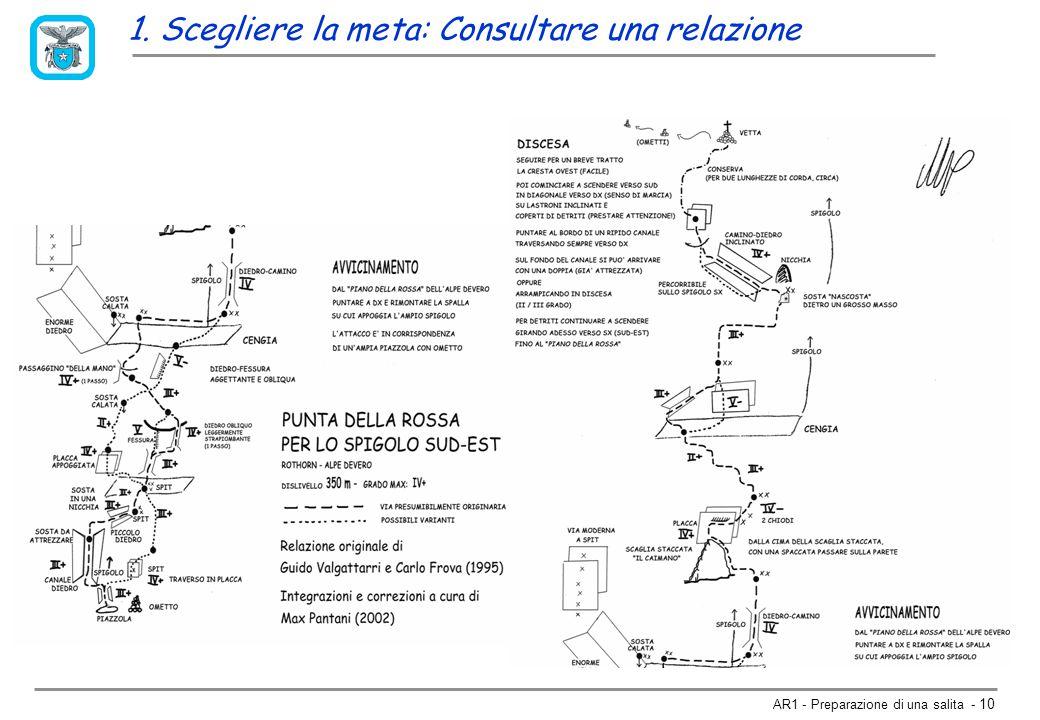 AR1 - Preparazione di una salita - 9 Spigolo Sud-Est alla Punta della Rossa Classicissima via di quarto grado (a volte superiore), vera e propria porta che apre verso il mondo dell alpinismo classico (ben pochi gli spit sulla via).