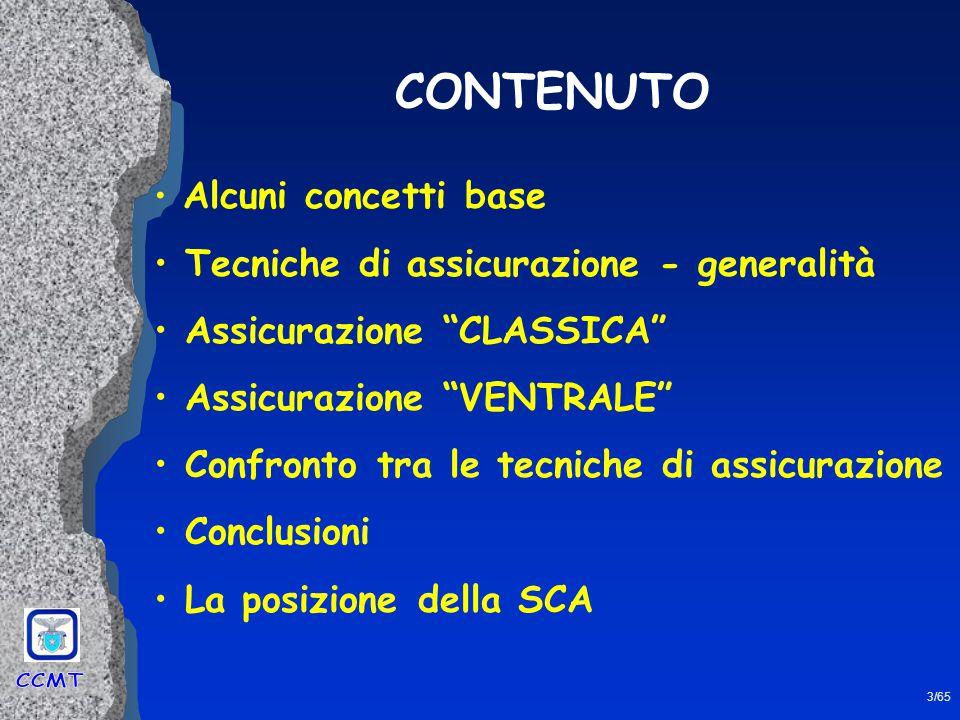 24/65 ASSICURAZIONE CLASSICA (1) (2)(3) Tre modi di effettuare l'assicurazione classica A A A