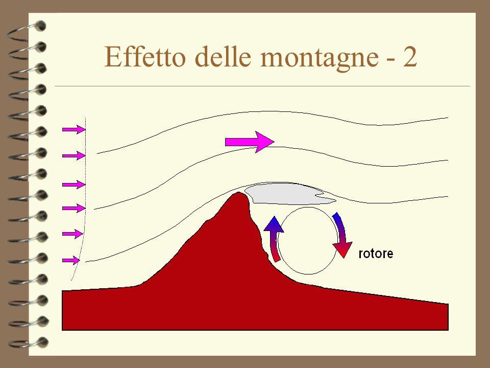 Effetto delle montagne - 2