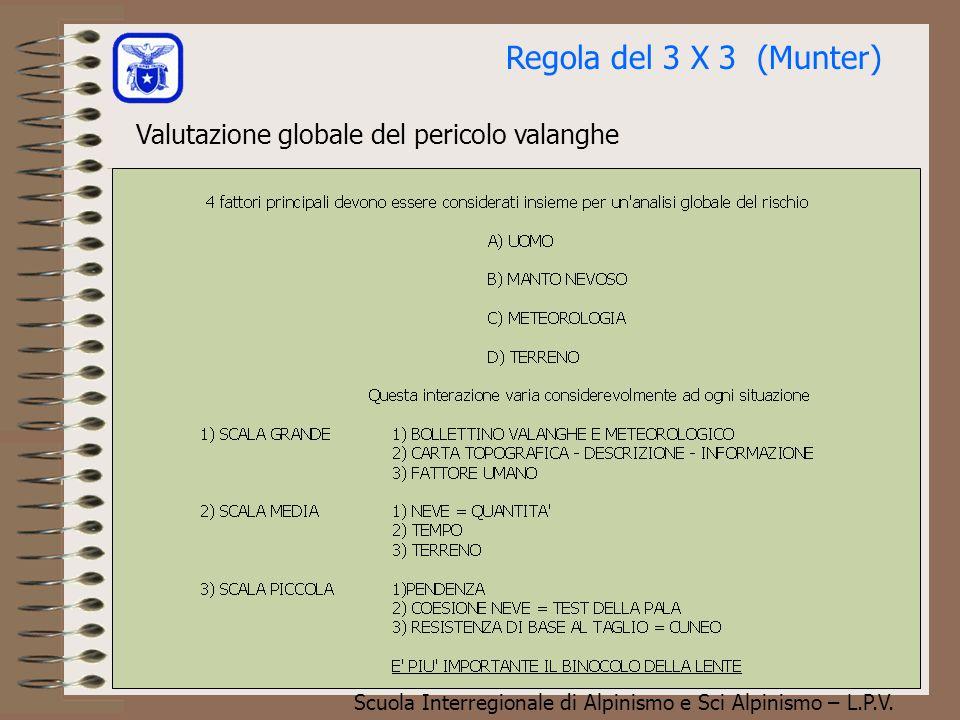 Scuola Interregionale di Alpinismo e Sci Alpinismo – L.P.V. Statistica incidenti da valanga La torta delle vittime di valanga riportata qui a lato, mo
