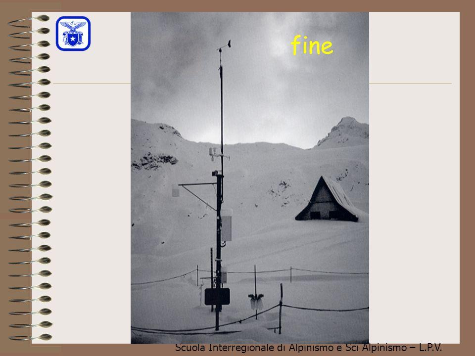 Scuola Interregionale di Alpinismo e Sci Alpinismo – L.P.V. Regola del 3 X 3 (Munter) Il grafico a lato dimostra quanto sia vero il fatto che gli inci