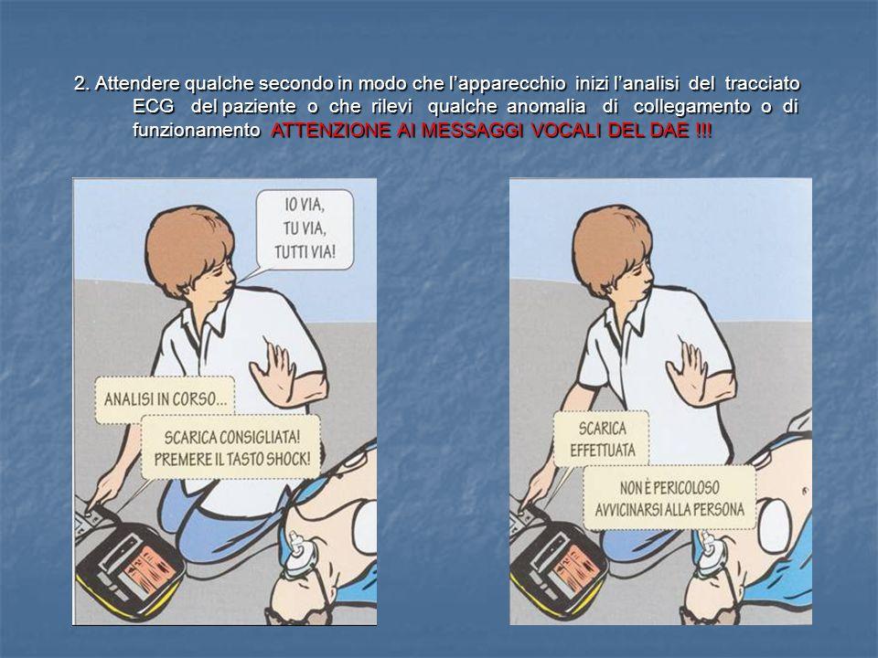 1. Collegare le piastre autoadesive sul torace del paziente seguendo le istruzioni riportate sulla confezione sconfezionandole con attenzione.