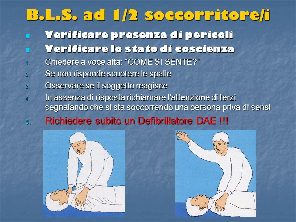 ostruzione acuta vie aeree vittima in piedi o seduta 5 colpi dorsali5 colpi dorsali 5 Heimlich5 Heimlich