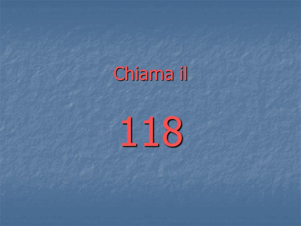 Chiama il 118