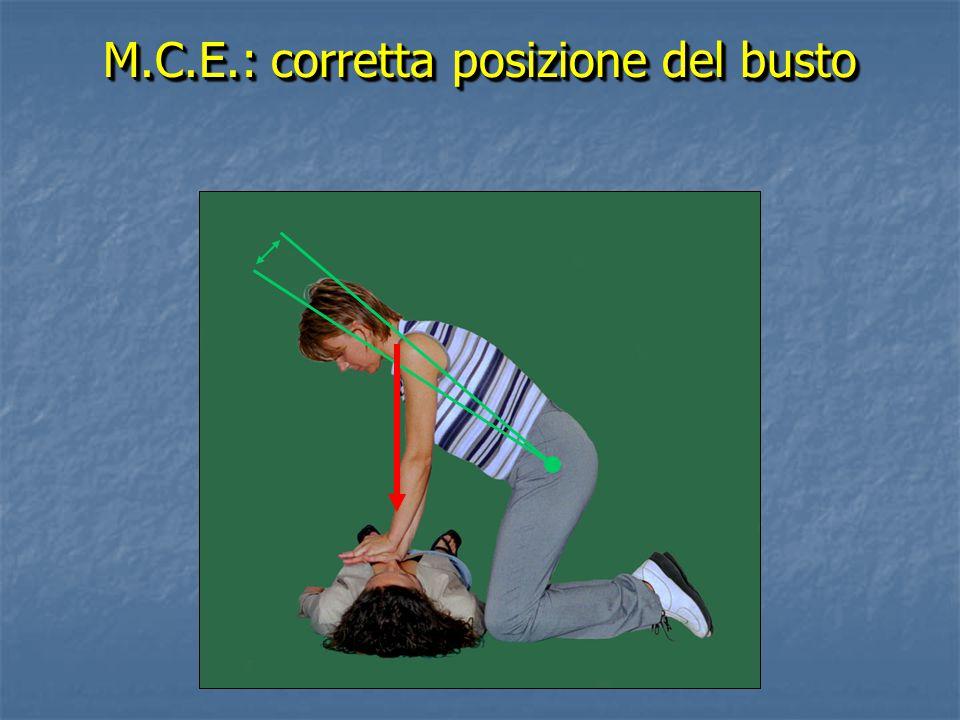 M.C.E.: corretta posizione del busto