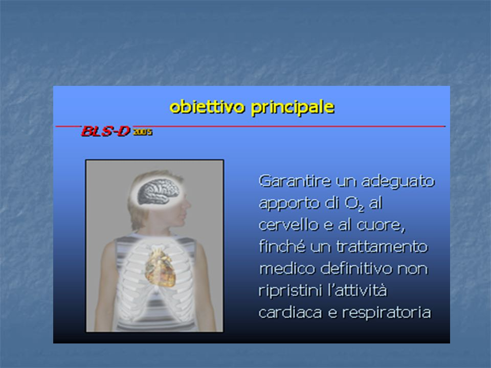 valutazione attività respiratoria, (polso e segni di circolo)