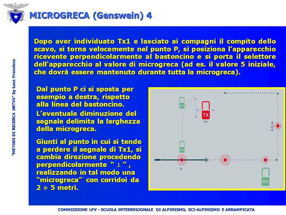 """COMMISSIONE LPV - SCUOLA INTERREGIONALE DI ALPINISMO, SCI-ALPINISMO E ARRAMPICATA """"METODI DI RICERCA ARTVA"""" by Luca Francisco MICROGRECA (Genswein) 3"""
