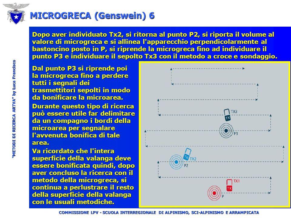"""COMMISSIONE LPV - SCUOLA INTERREGIONALE DI ALPINISMO, SCI-ALPINISMO E ARRAMPICATA """"METODI DI RICERCA ARTVA"""" by Luca Francisco MICROGRECA (Genswein) 5"""