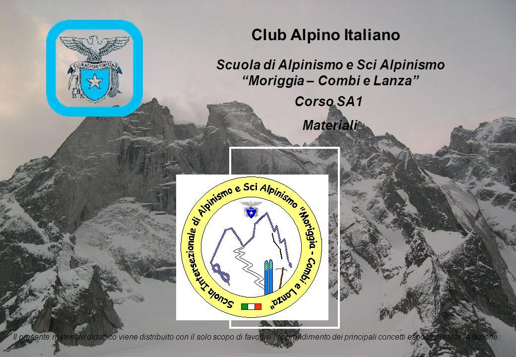 SA1 - Materiali - 11 Sci Leggerezza, robustezza, manovrabilità sono le caratteristiche principali per uno sci da scialpinismo.