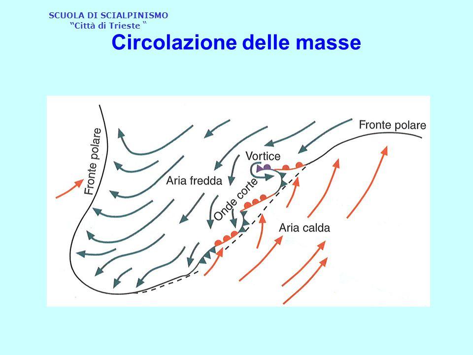 """SCUOLA DI SCIALPINISMO """"Città di Trieste """" Circolazione delle masse"""