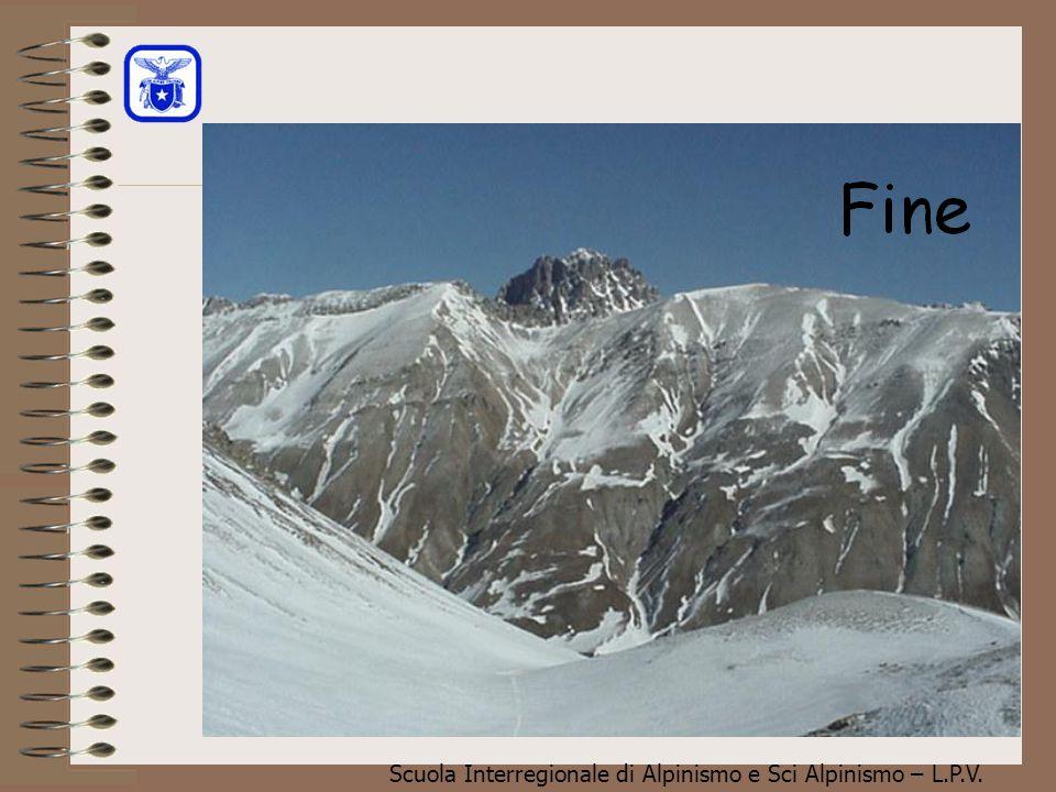 Scuola Interregionale di Alpinismo e Sci Alpinismo – L.P.V. Valanga di lastroni soffici(distacco) Il tipo di valanga a lastroni qui a lato, è costitui