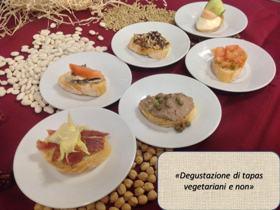 «Degustazione di tapas vegetariani e non»