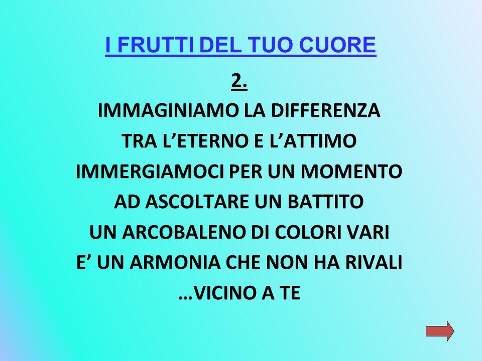 I FRUTTI DEL TUO CUORE 2.