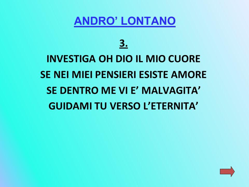 ANDRO' LONTANO 3.