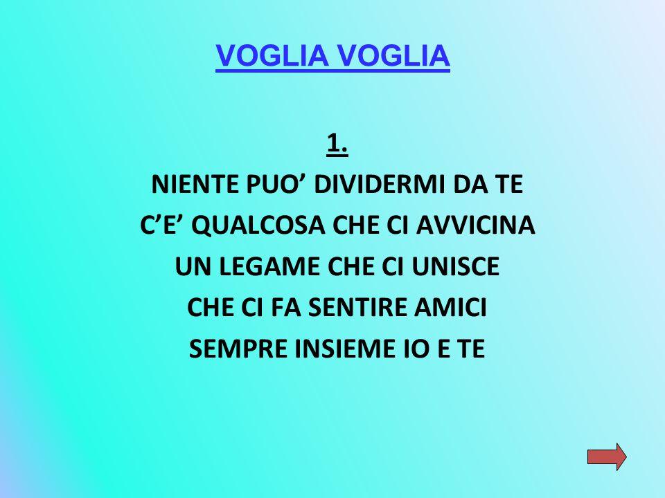 VOGLIA 1.