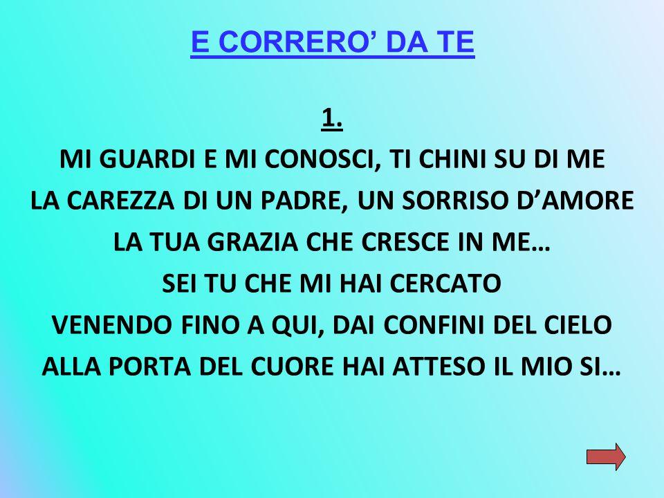E CORRERO' DA TE 1.