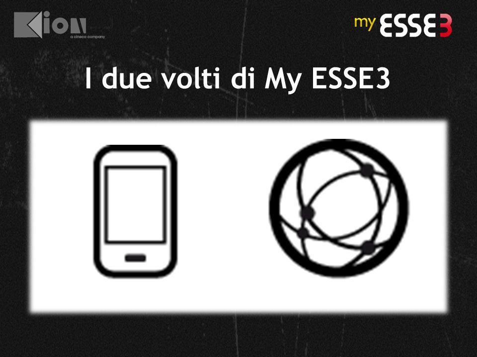 I due volti di My ESSE3