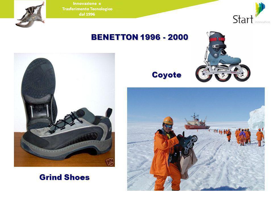 BENETTON 1996 - 2000 Innovazione e Trasferimento Tecnologico dal 1996 Grind Shoes Coyote