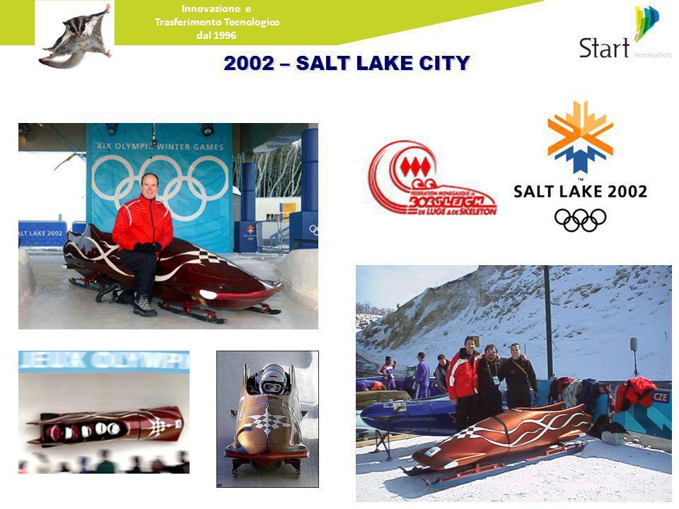 Innovazione e Trasferimento Tecnologico dal 1996 2002 – SALT LAKE CITY