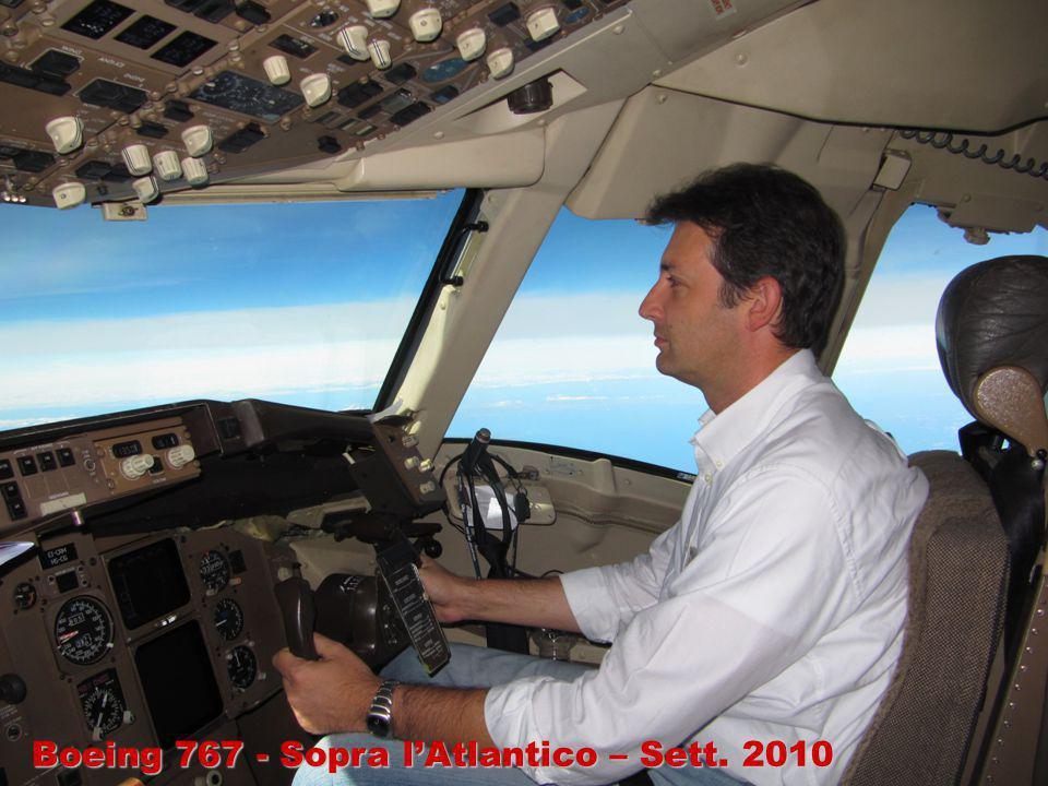 Boeing 767 - Sopra l'Atlantico – Sett. 2010