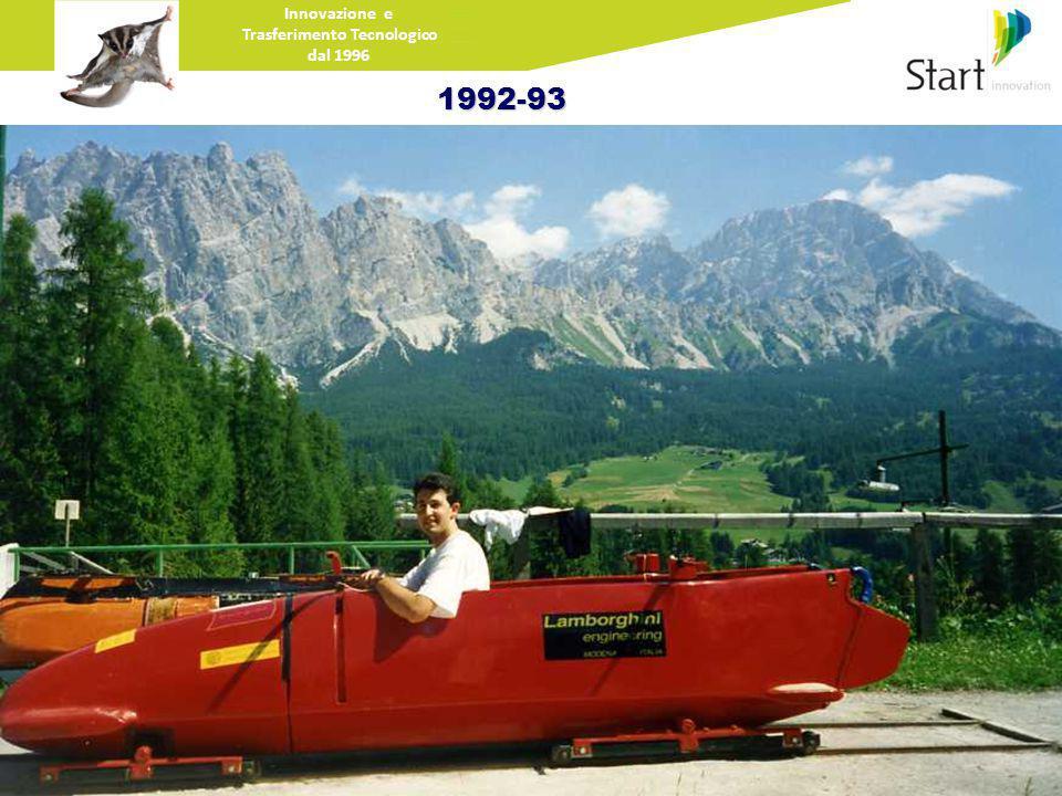 Innovazione e Trasferimento Tecnologico dal 19961992-93