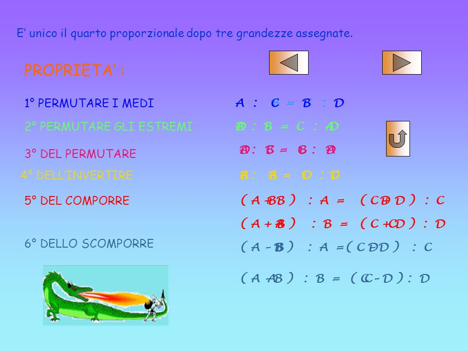 misura, è contenuta nella 1°. Il rapporto tra 2 grandezze omogenee (A, B) B) è quel numero reale (r)(r) che esprime quante volte la 2 ° grandezza, ass