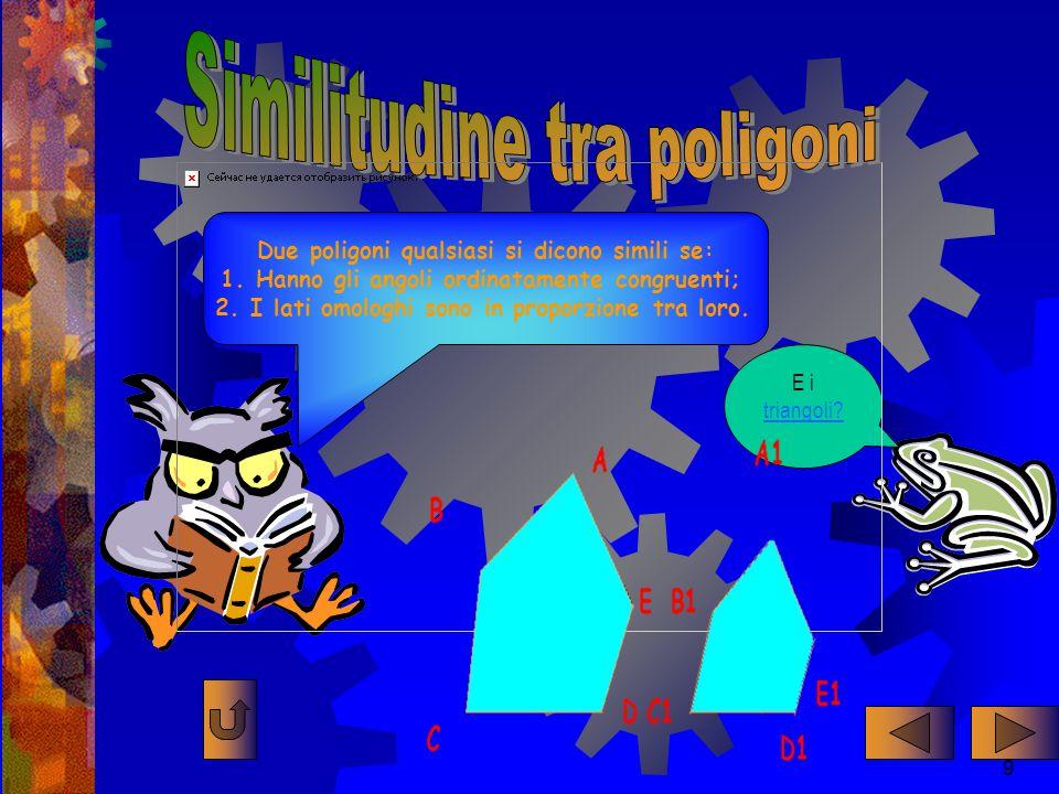 Nell'aula magna dell'Università di Paperopoli si sta discutendo sui teoremi di Talete.Talete Il 2° Teorema di Talete enuncia che:un fascio di rette parallele determina sopra due trasversali due insie- mi di segmenti direttamente proporzionali !!.