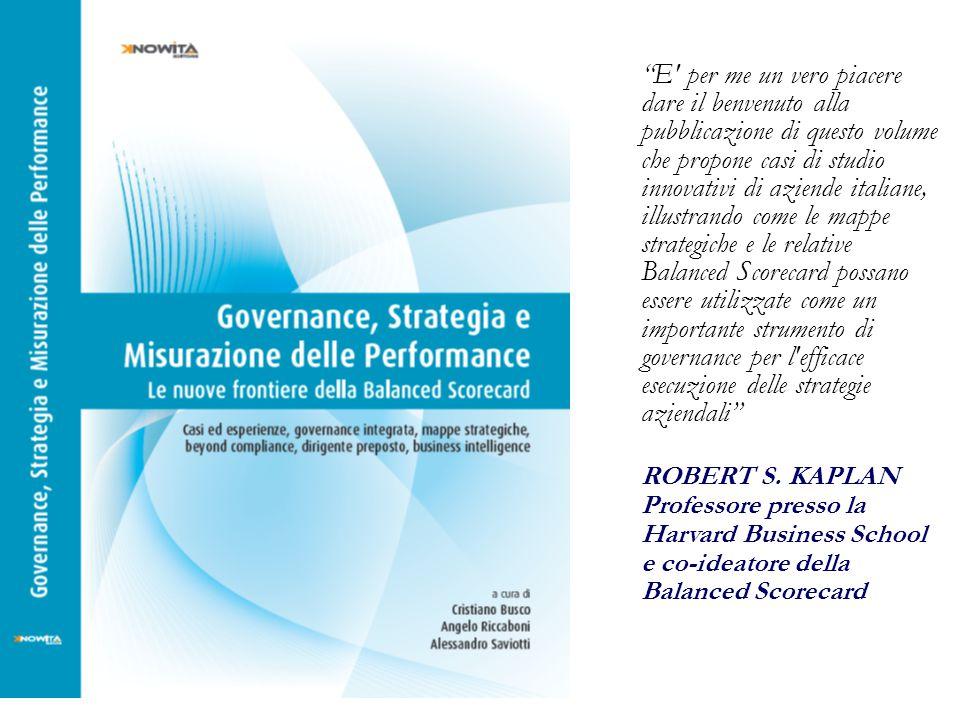 """""""E' per me un vero piacere dare il benvenuto alla pubblicazione di questo volume che propone casi di studio innovativi di aziende italiane, illustrand"""