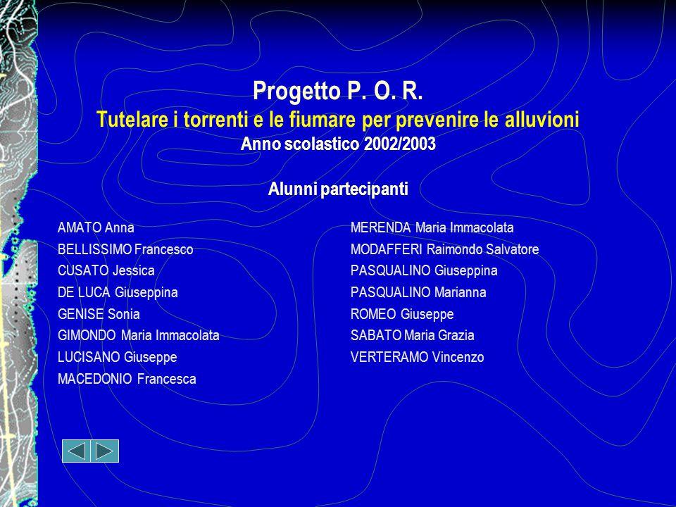 Progetto P.O. R.