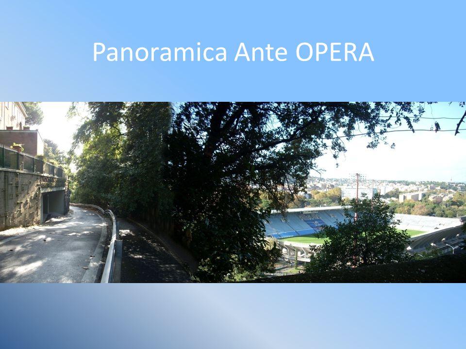 Panoramica Ante OPERA
