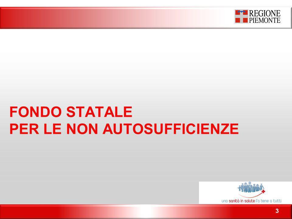 FONDO STATALE PER LE NON AUTOSUFFICIENZE 3