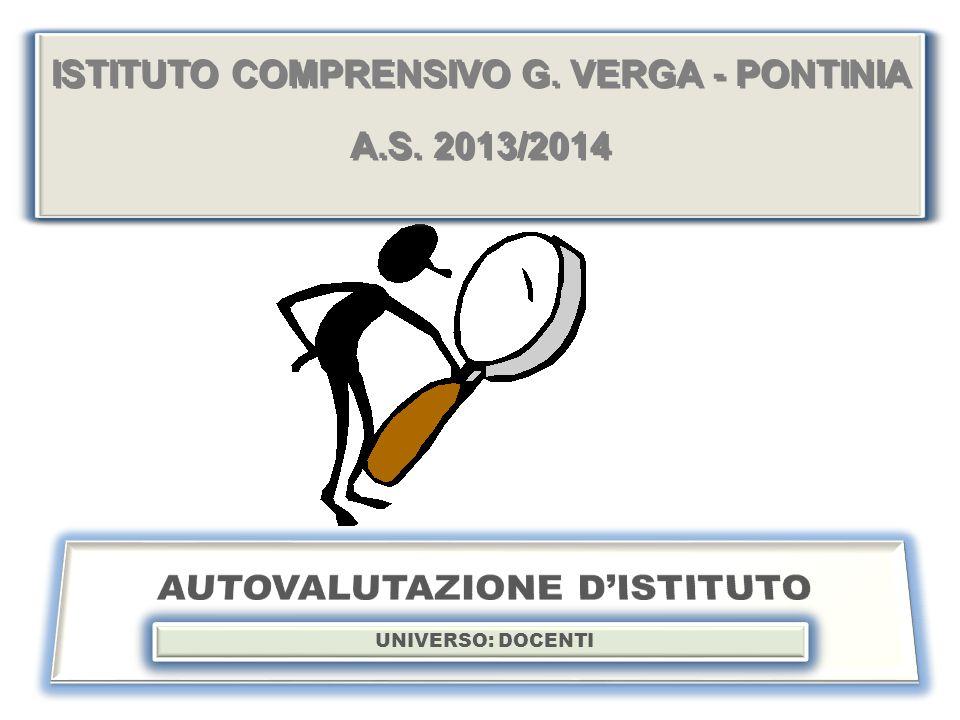 ISTITUTO COMPRENSIVO G.VERGA - PONTINIA A.S. 2013/2014 ISTITUTO COMPRENSIVO G.