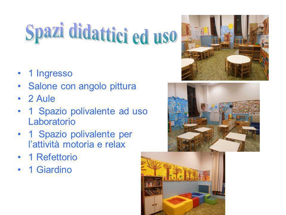 n° 2 sezioni n° 4 insegnanti : 1° sez.Tamara Tarchi – Tosca Bassi 2° sez.