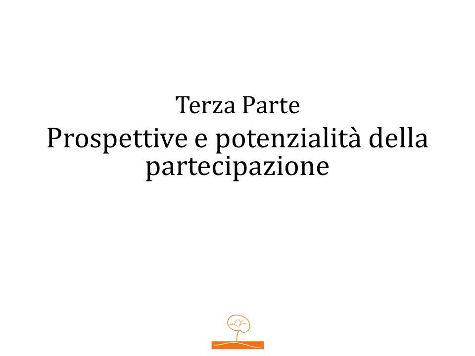 Terza Parte Prospettive e potenzialità della partecipazione