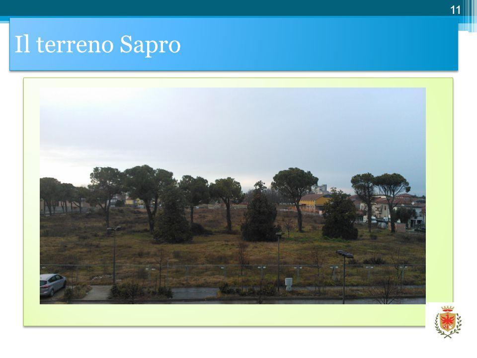 Il terreno Sapro 11