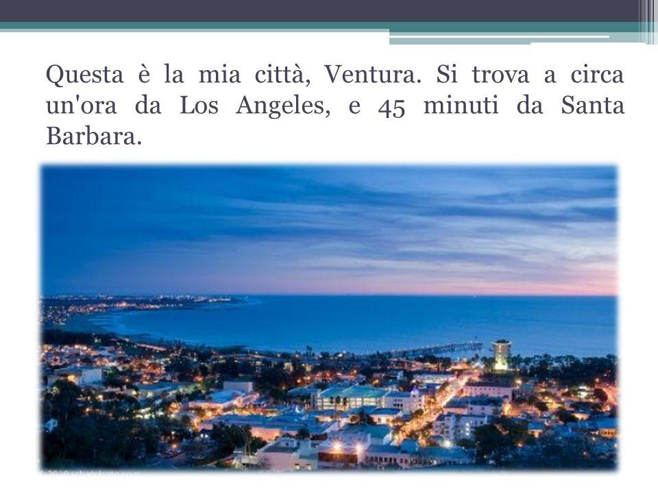 Questa è la mia città, Ventura.